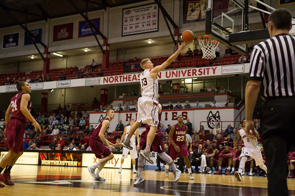 Northeastern Men's Basketball vs Harvard
