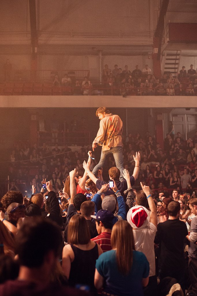 Cage the Elephant at Northeastern Springfest 2013