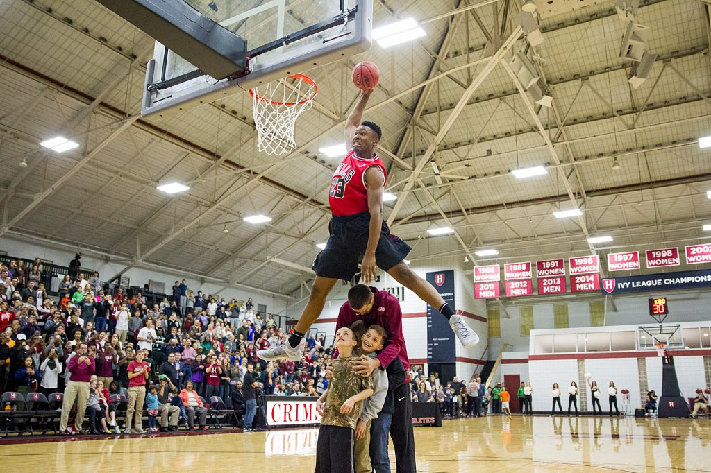 Harvard Basketball Dunk Contest 2015